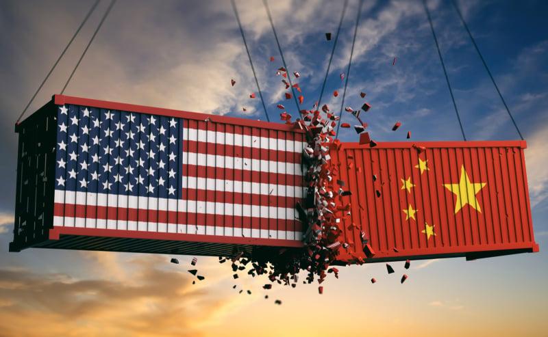choc USA contre Chine. Enjeux géopolitique