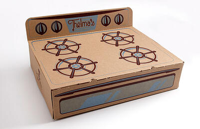 'Oven Box' design delights Thelma's Treats