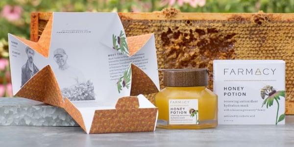 Eco-friendly packaging by Farmacy Beauty