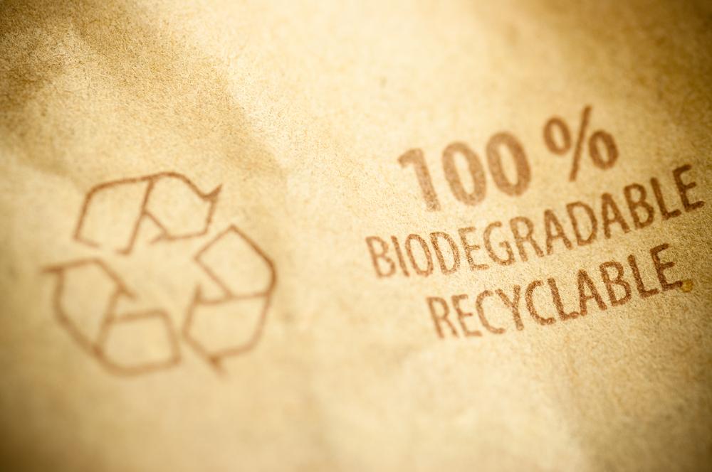 La durabilité, emballage recyclé