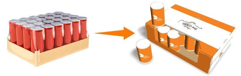 Ekološka embalaža za pločevinke piva - trajnostni koncept nagrajen s priznanjem za uvrstitev v ožji izbor na natečaju Slovenski oskar za embalažo 2020