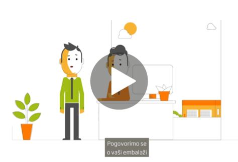 Video trajnostna embalaža DS Smith