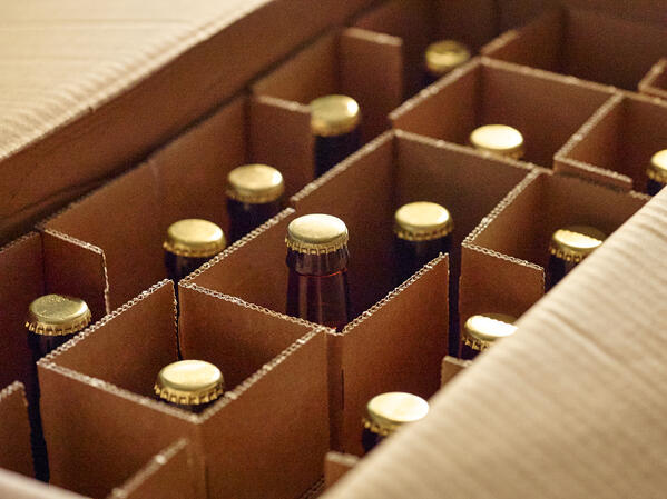 Krabice na lahvové pivo
