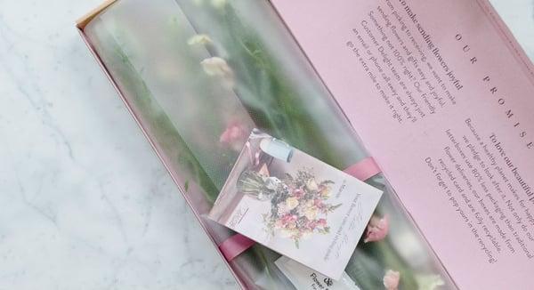 Balení řezaných květin